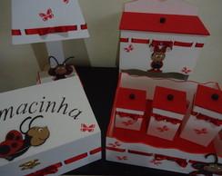 Kit de beb� Joaninha
