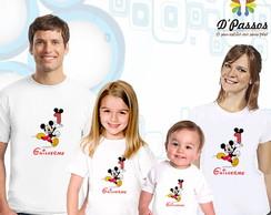 Kit 4 camisetas- Mickey 03