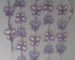 Pingente de borboletas na cor lil�s