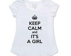 Bata Gestante Keep Calm It's A Girl