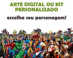 arte digital - kit personalizado