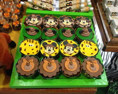 Cupcake Mickey Safari /Safari do Mickey