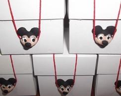 Caixinhas com Fecho em Biscuit Mickey