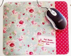Mouse Pad Personalizado Floral