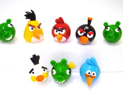 Angry Birds em Biscuit - Valor Unit�rio