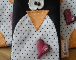 Porta Celular Pinguim