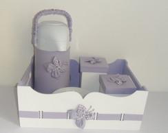 Kit de higiene lil�s 5 pe�as