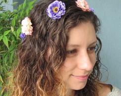Coroa de Flores Cam�lias