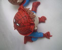 topo de bolo homem aranha baby