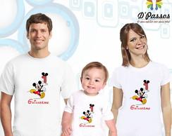 Kit 3 camisetas- Mickey 03