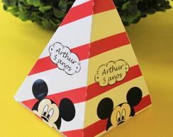 Cone piramide lembrancinha Mickey