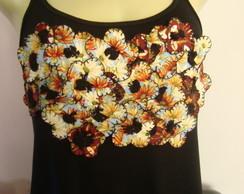 Projeto Camiseta Flores soltas