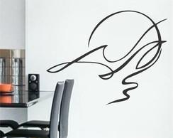 Adesivo Decorativo Abstrato Passaro
