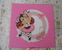 Caixa Pequena Rosa de Joaninha