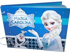 �lbum Com Caixa Frozen