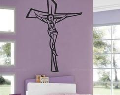 Adesivo Decorativo Crucifixo