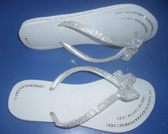 Chinelo Hav. Slim com strass...