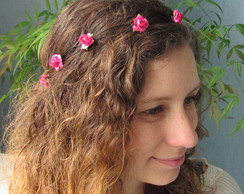 Coroa de Flores Mini Rosas