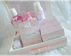 R�tulos Kit Toalete rosa floral