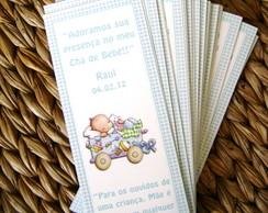 Marcador de livros: Ch� de beb�