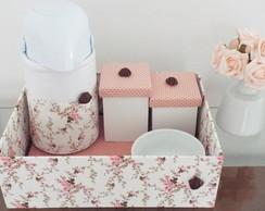 Kit Higiene Doce Floral - Cupcake