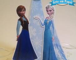 Centro de Mesa Personalizado Frozen