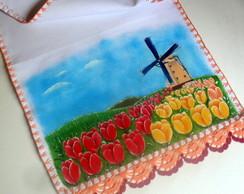 Pano de copa (campo de tulipas)