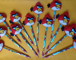 L�pis personalizado Angry Birds