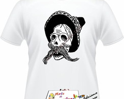 Camiseta Adulto Caveira Mexicana