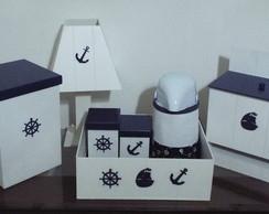 Kit Higiene Estilo Navy - N�utico
