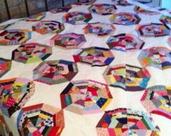 Colcha Casal Patchwork