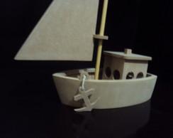 Barco decora��o lembrancinha aniversario