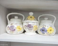 Conjunto de porcelanas para cozinha