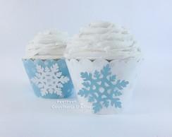 Wrapper para Cupcake Frozen