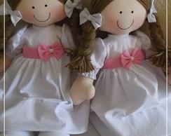 2 Bonecas Dama de honra Rosita