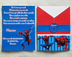 Convite Personalizado Homem Aranha