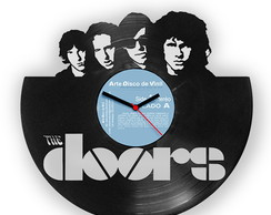 THE DOORS - Rel�gio de disco de LP