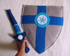KIT Escudo + espada feltro