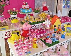 Festa Peppa Pig - decora��o