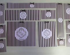 R�tulos personalizados para kit toilet