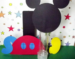 Porta Tubete + Tubete Casa do Mickey