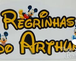 Placa de t�tulo Cantinho das Regrinhas