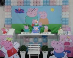 Decora��o de Festa Infantil Peppa Pig