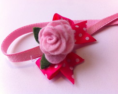 Faixa El�stica Roses PP