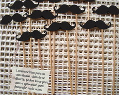 Toppers Mustache Photo booth para Fes
