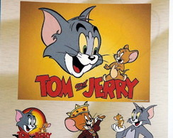 Revista para colorir Tom e Jerry