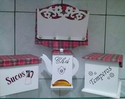 Kit de Cozinha Personalizado Mdf