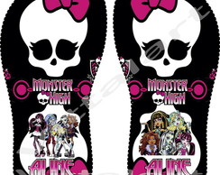 Chinelo Havaianas Monster High - Adulto