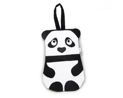 Lixeira para carro - ursinho panda
