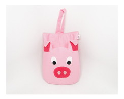 Lixinho Para Carro Porquinho Acolchoado*
